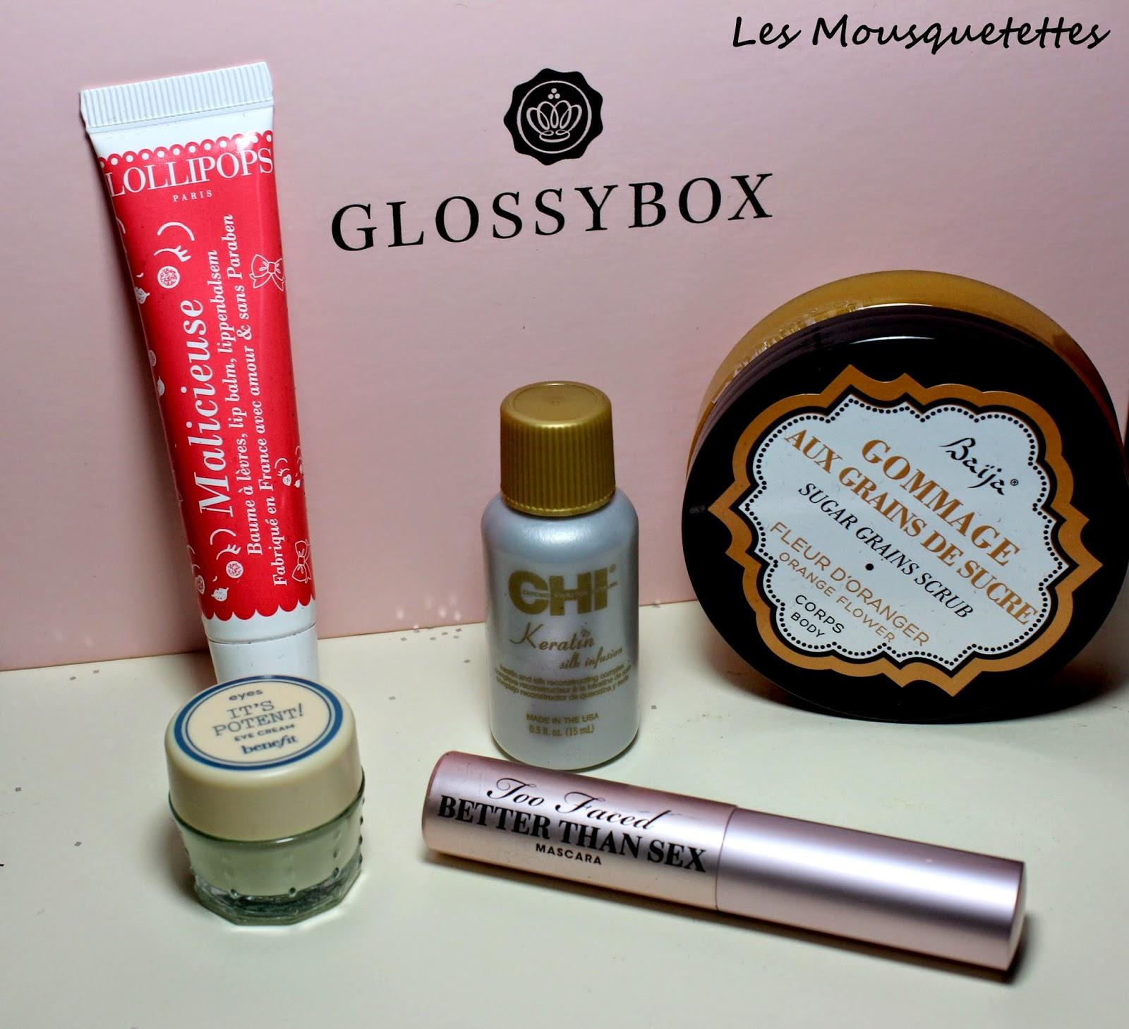 Glossybox Janvier 2015 - Les Mousquetettes©