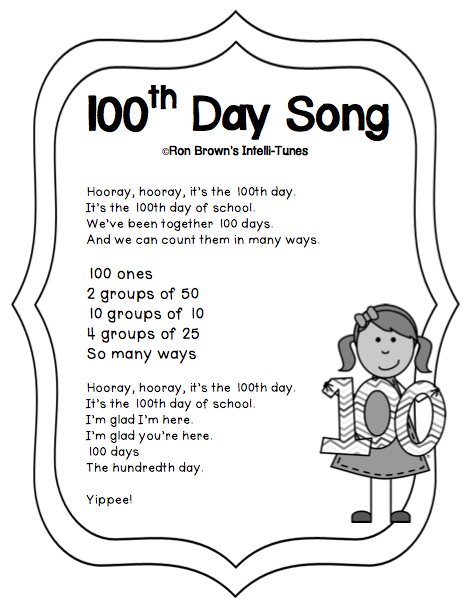 Teacher idea factory looking for a different kind of for 100th day hat template
