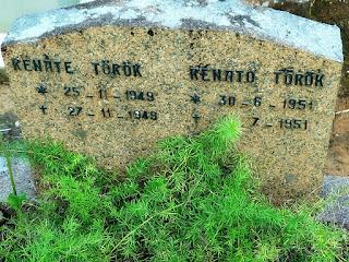Lápide de Crianças no Cemitério Alemão, Lindolfo Collor