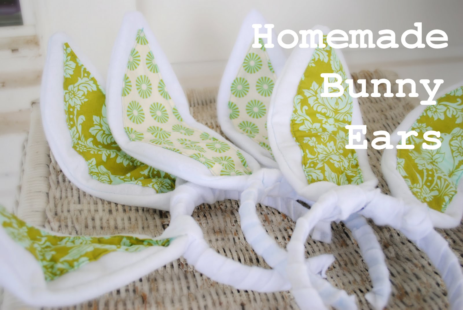dollar tree bunny chair covers and sofa dahlhart lane homemade ears for easter tutorial