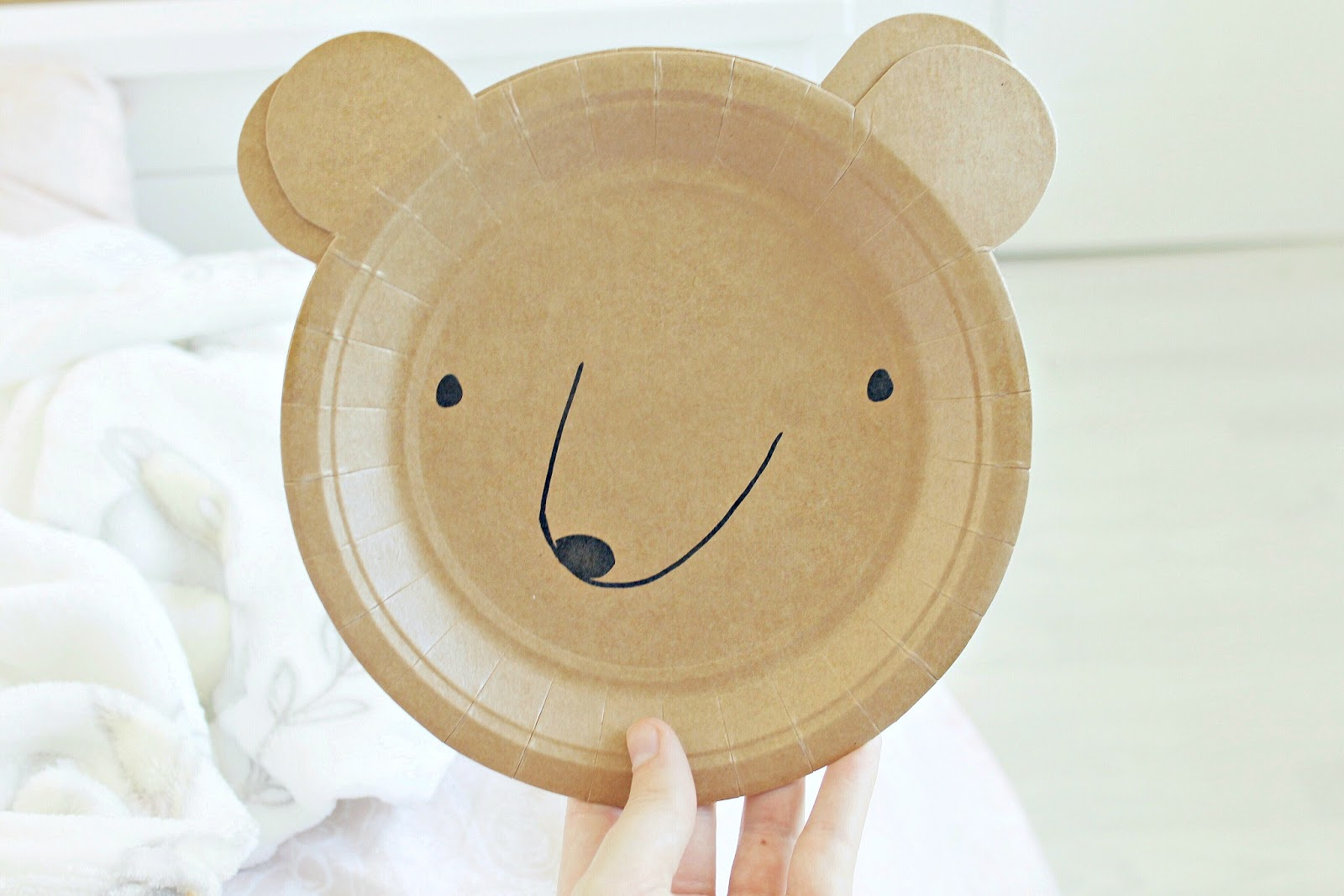Shabby chic boy party ideas, bear themed party