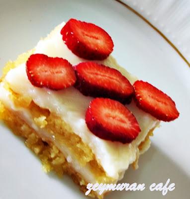 kuru fasulyeli kek