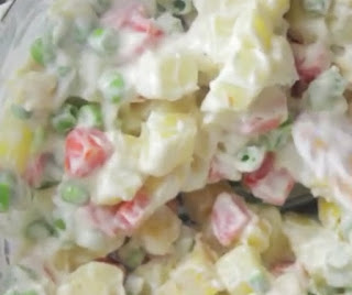 How to make Russian Salad step by step