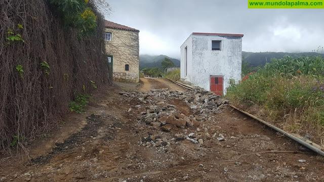 Puntallana realiza obras de mejora en el barrio de El Granel