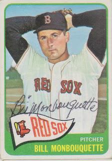 1965 Topps, Bill Monbouquette