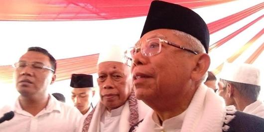 Kampanye Prabowo di GBK Diklaim Terbesar, Kiai Ma'ruf: Tunggu 13 April