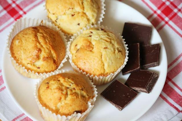 babeczki, muffiny, czekolada