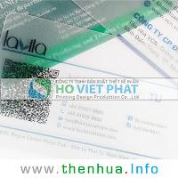 Name Card Trong Có Mã QR - Thông Tin Liên Hệ