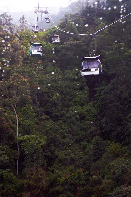 cable ride in Genting