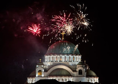 Macedonia *Orthodox New Year 2017* Images, Status, Wishes, Quotes, Greetings, Songs, Sms Download  Free - Russian New Year
