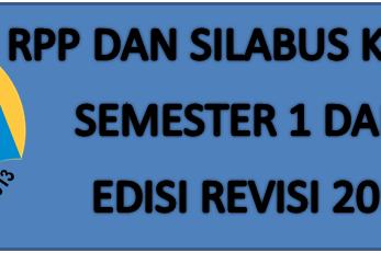Download RPP dan Silabus Kelas 4 Semester 1 dan 2 Kurikulum 13 Revisi 2016
