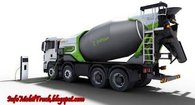 Gambar truk molen besar model terbaru