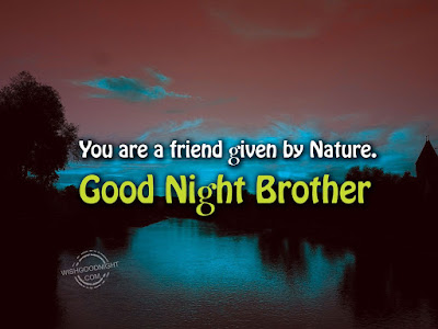 good-night-brother-message