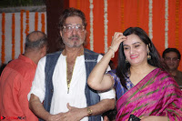 Shakti Kapoor and Padmini Kolhapuri at Inauguration Of Pandit Padharinath Kolhapure Marg Exclusive  37.JPG