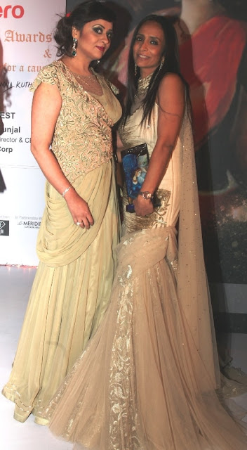 Entrepreneur Ratika Seth with Actress Suchitra Pillai