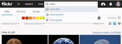 Come cercare una foto su Flickr