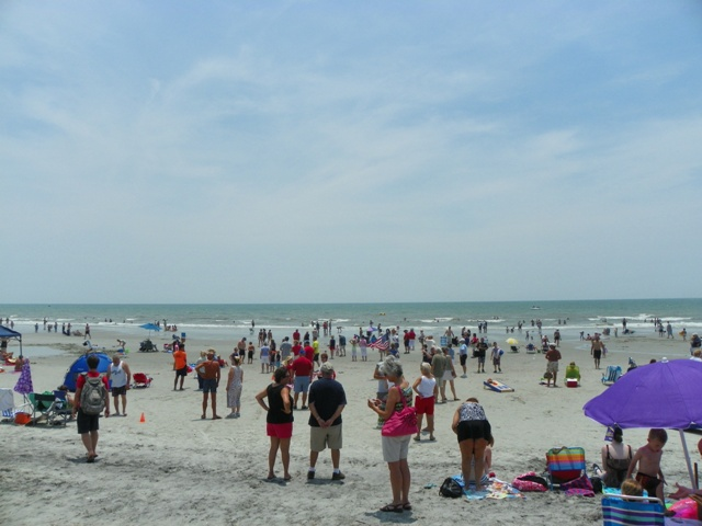 Myrtle Beach Real Estate Photoore North Sc On Noon July 4