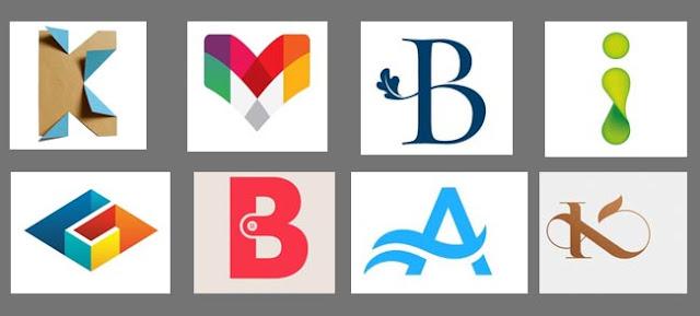 organizasyon imajını harflerden oluşturan amblemler