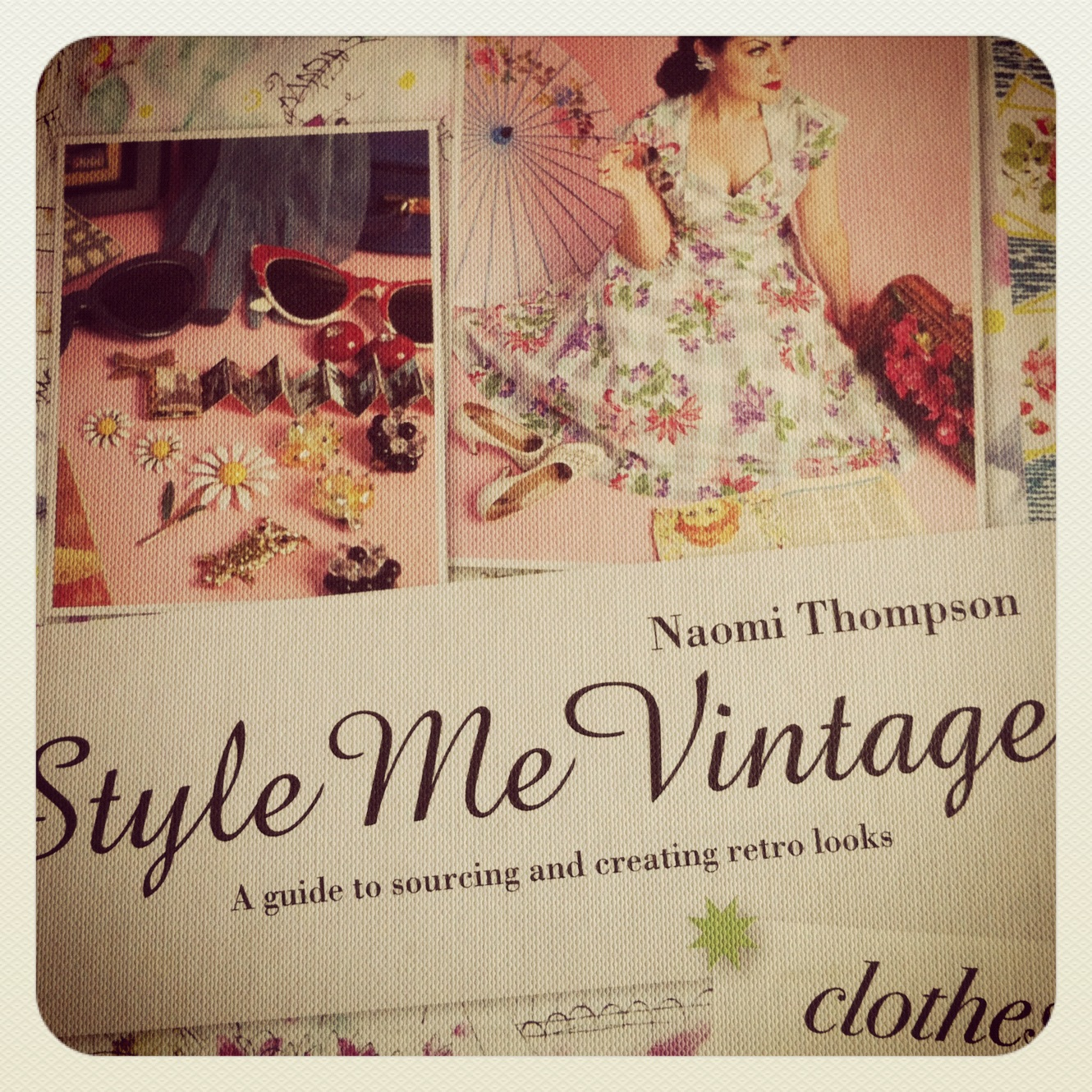 style me vintage clothes book review fashioned