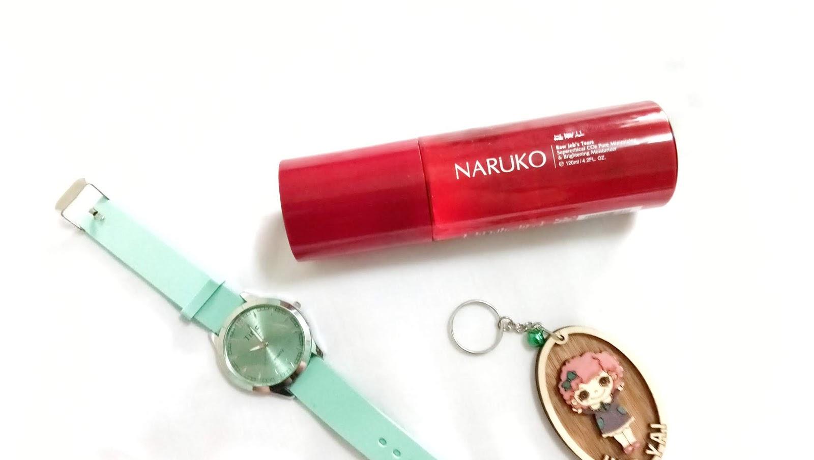 Naruko Raw Job's Tears Supercritical CO2 Pore Minimizing & Brightening Moisturizer Review