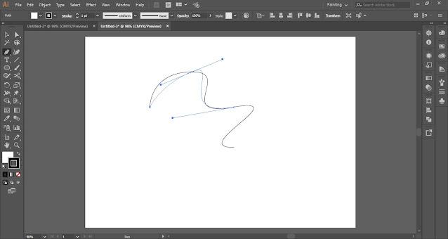 Pen Tool in Adobe Illustrator