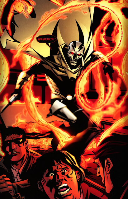 page from El Diablo v3 #1 (2008). Property of DC comics.