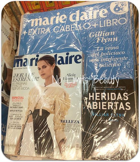 Regalos revistas septiembre 2016: Marie Claire