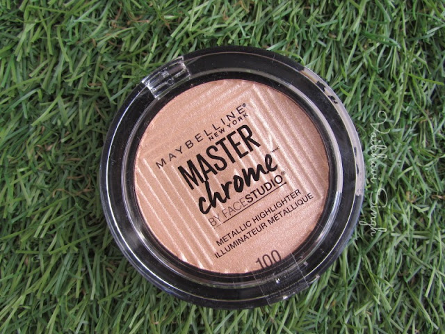 Maybelline Master Chrome highlighter in Molten Gold Review India