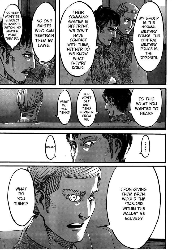 Shingeki no Kyojin Ch 53: Stupid Believers
