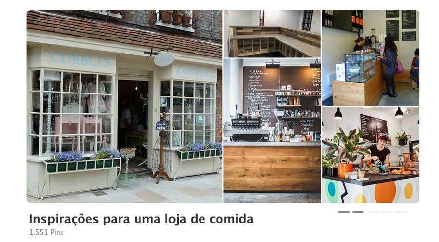 Inspirações para uma loja de comidas na Cozinha do Quintal