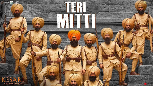 Teri Mitti Lyrics - Kesari | B Praak, Arko
