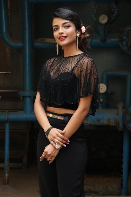 Ashna Zaveri stills at Nagesh Thiraiyarangam press meet