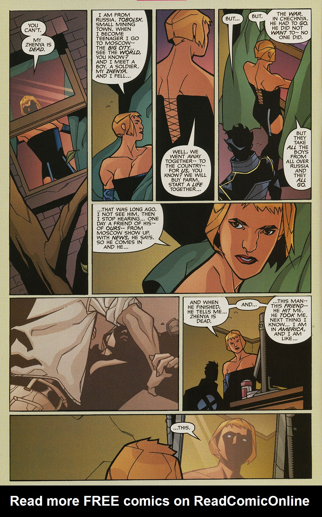 Read online Nightcrawler (2002) comic -  Issue #3 - 5