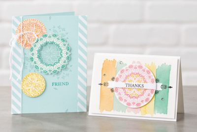 2017 Sale-a-Bration Inspiration: 7 Make a Medallion Card Ideas + Video