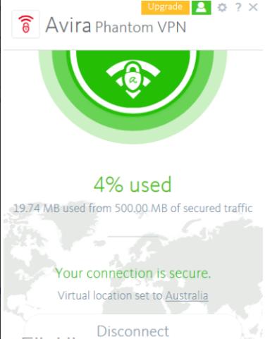 شرح + تحميل برنامج في بي ان 2018 مجاني للكمبيوتر برابط مباشر AVIRA FREE PHANTOM VPN 2.11.3.29834