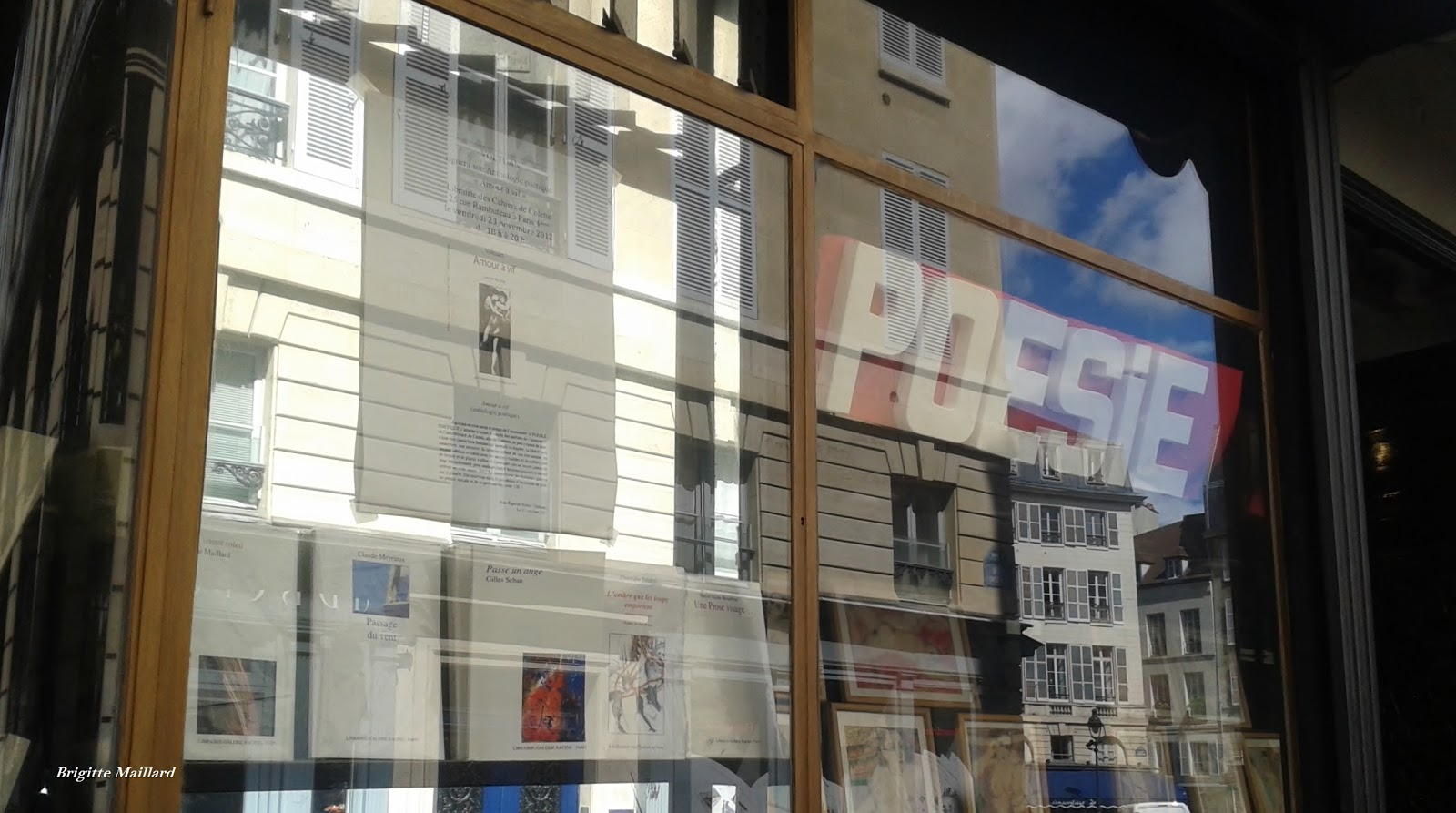 Librairie Galerie racine, poésie