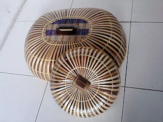 Tudung saji dari bambu