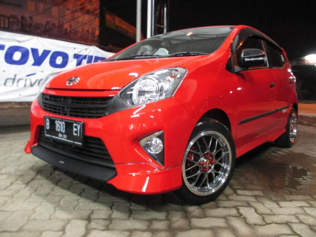 Photo Modifikasi Mobil Agya Merah Modif Mobil