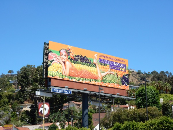 Candidly Nicole season 2 billboard