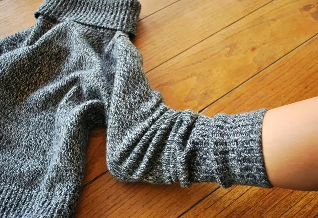 Cómo hacer unas zapatillas con un jersey