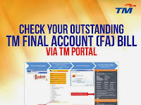 Have You Settled Your Outstanding TM Final Account (FA) Bill?