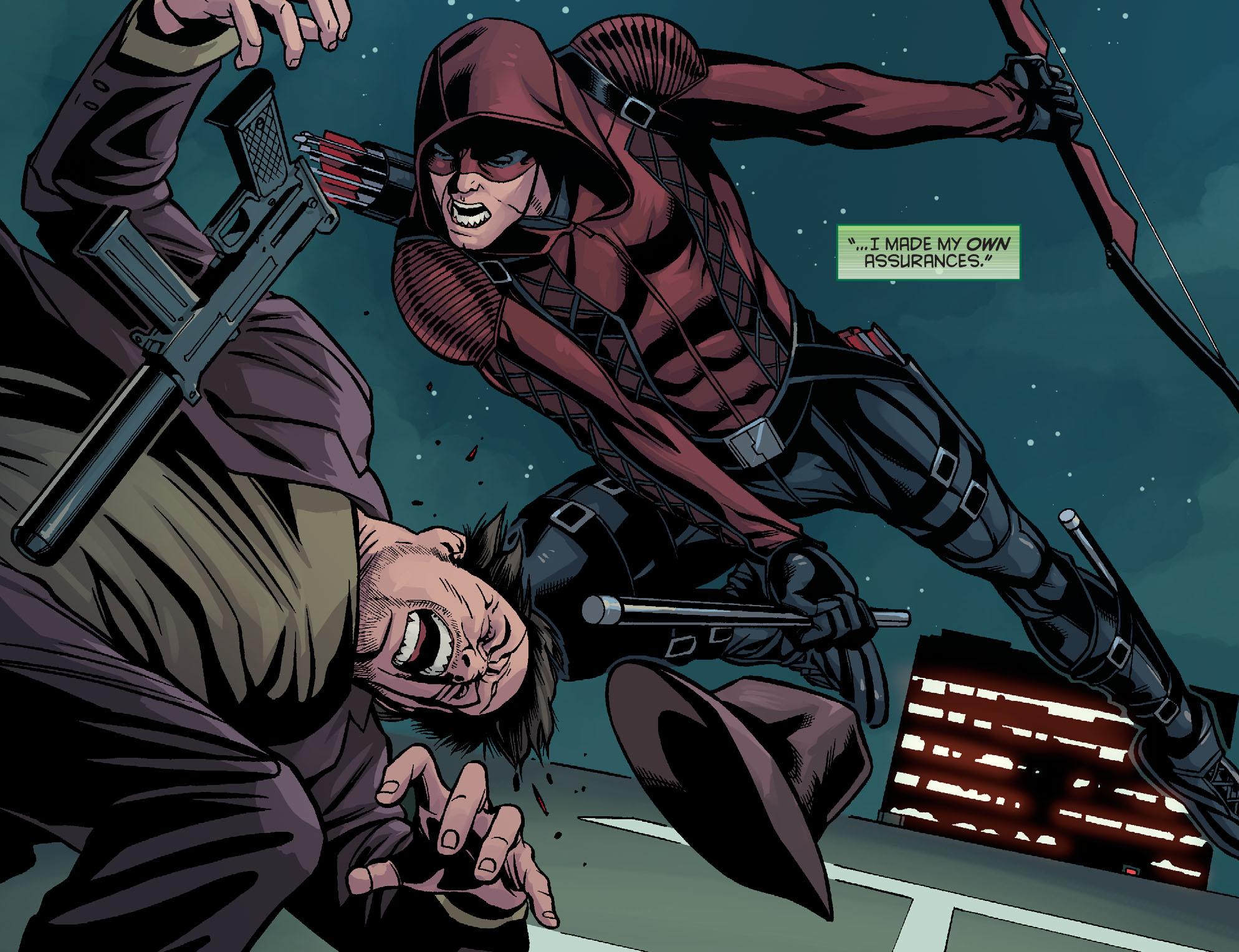Read online Arrow: Season 2.5 [I] comic -  Issue #14 - 4