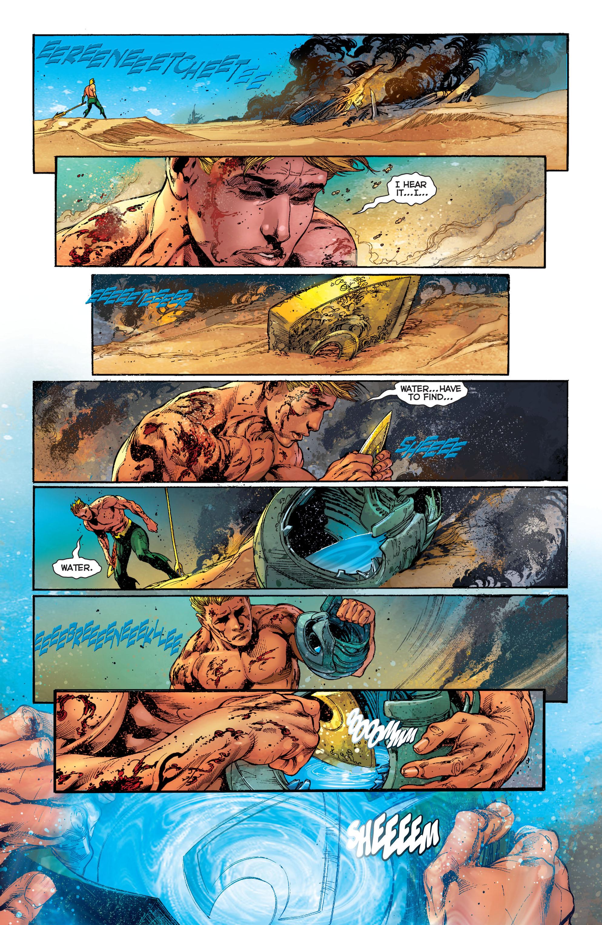 Read online Aquaman (2011) comic -  Issue #5 - 18