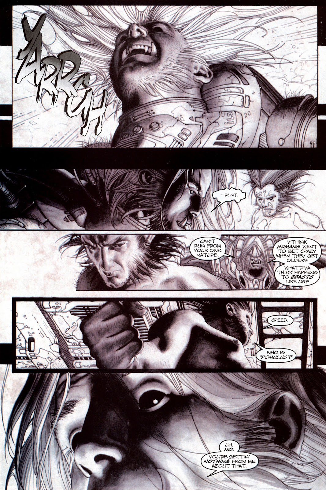 Read online Wolverine (2003) comic -  Issue #53 - 11