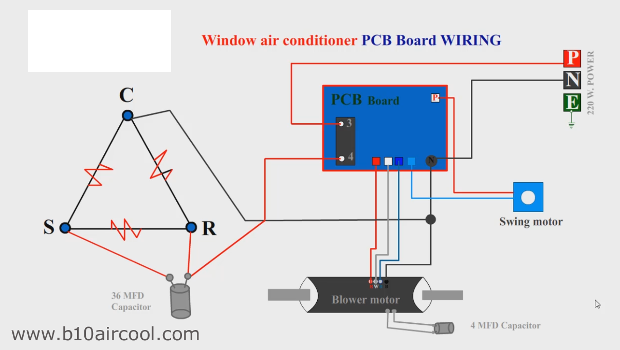 Wiring Diagram Bten Aircool Pcb Board Csr