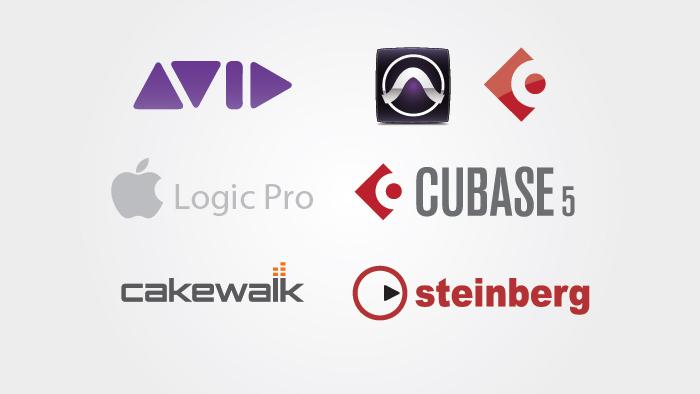 logo digital audio workstation daw part1