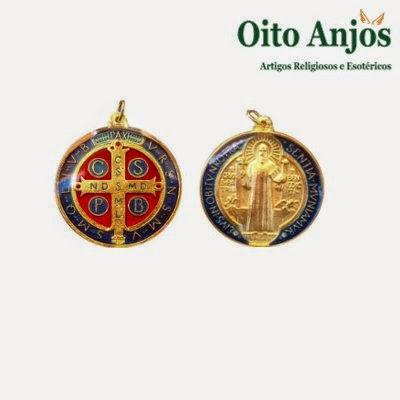 Pingente São Bento | Oito Anjos Artigos Religiosos e Loja Esotérica
