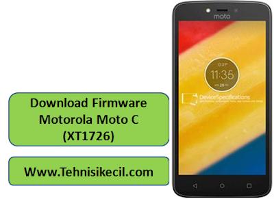 Download Firmware Motorola Moto C (XT1726) Stock Rom