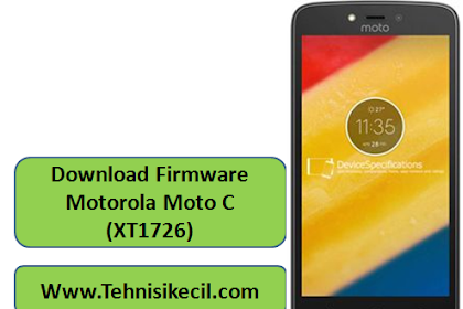 Download Firmware Motorola Moto C (XT1726) Stock Rom