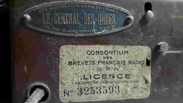 CENTRAL DES ONDES  CDO 751  TSF  DUCRETET 745 Dépannage